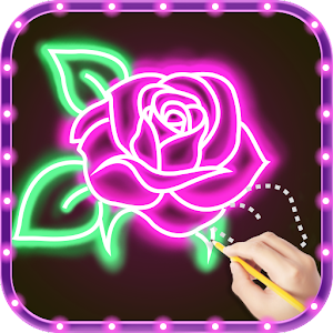 Draw Glow Flower Online PC (Windows / MAC)