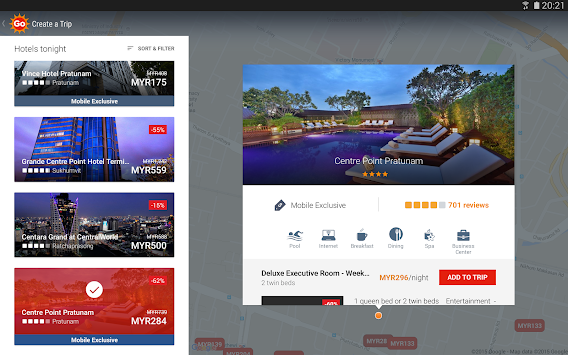 AirAsiaGo - Hotels & Flights APK screenshot thumbnail 9