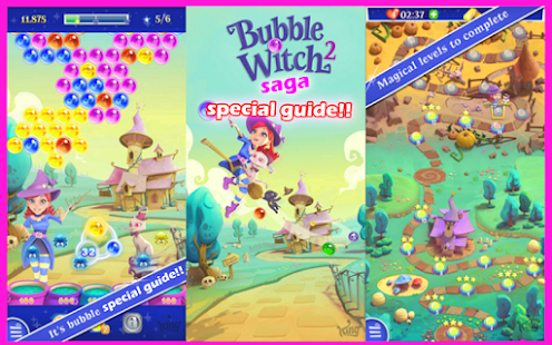 guide bubble witch 2 Saga  New - screenshot