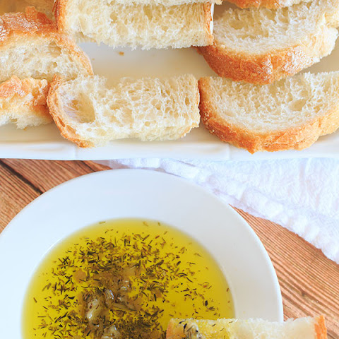 Roasted Garlic Dipping Oil