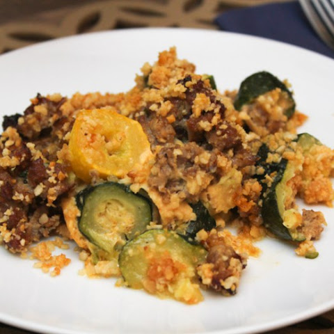 Squash and Sausage Casserole