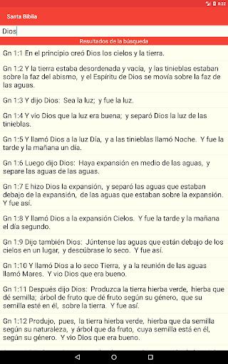 Santa Biblia Gratis screenshot 13