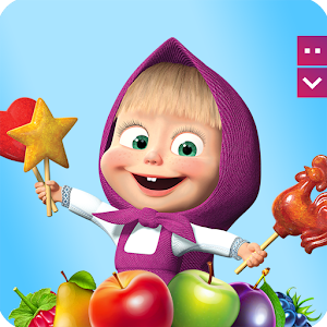 Masha and The Bear Jam Day Match 3 games for kids For PC (Windows & MAC)