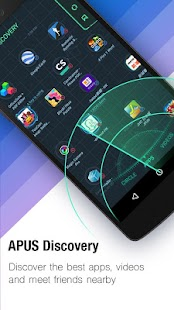 APK App APUS Launcher - Themes, Boost for iOS