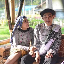 by Rizky karunia  Arief  - People Couples ( prewedding, indonesia, sunda, sundanese, bandung )