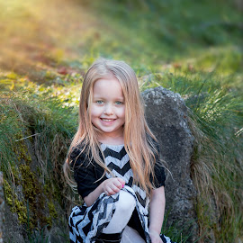 Makayla by Jenny Hammer - Babies & Children Child Portraits ( pretty, girl, sunny, portrait, summer, child )