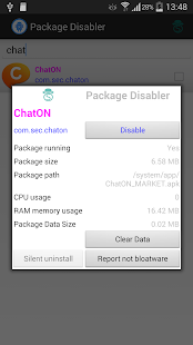 Package Disabler Pro (Samsung)- screenshot thumbnail