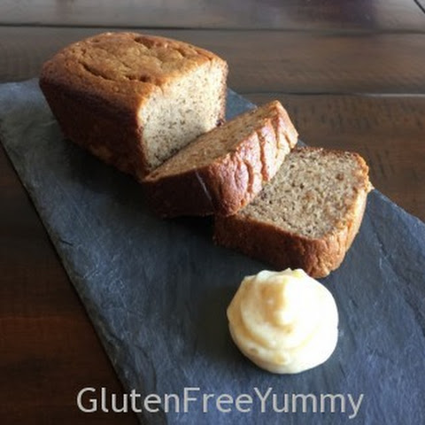 Grain-free Banana Bread with Honey Rum Butter