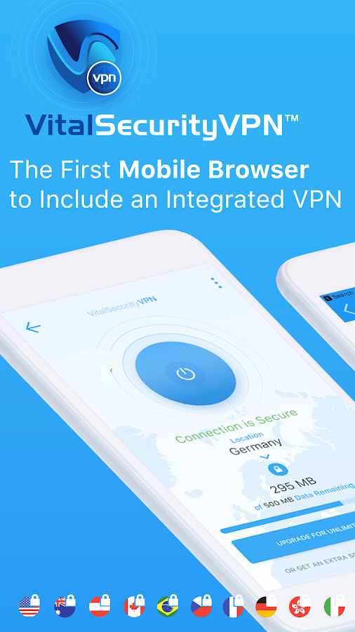 FinjanMobile VitalSecurity VPN Screenshot