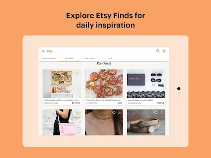 Etsy: Handmade & Vintage Goods APK for Nokia