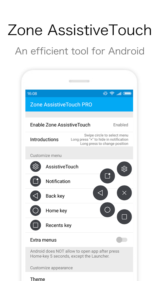 Zone AssistiveTouch PRO Screenshot