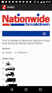 Nationwide Breakdown - screenshot