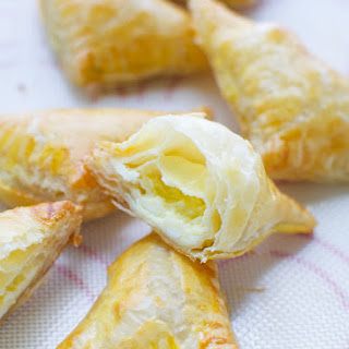 Puff Pastry Cheese Triangles Recipes