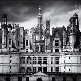 Chambord by Ron Traeger - Buildings & Architecture Public & Historical ( building, chambord, france, french, architecture, chateau )