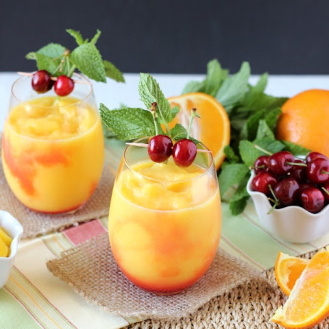Tropical Fruit Slushie