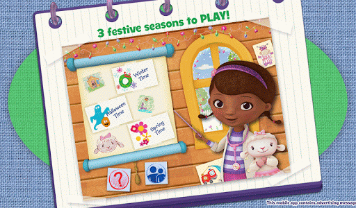 Doc McStuffins Color and Play - screenshot