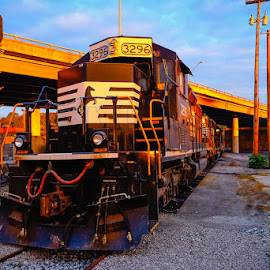 3296 by John Edwin May - Transportation Trains ( engine, railroad, tennessee, rr, norfork )
