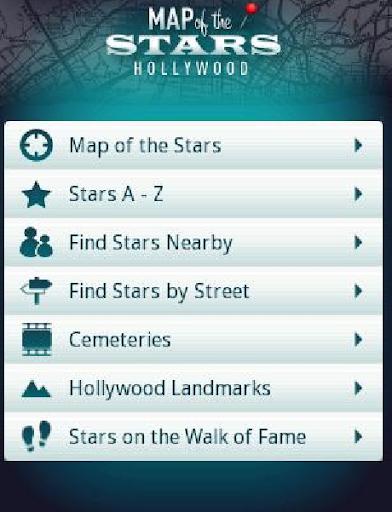 Map of the Stars Hollywood - screenshot