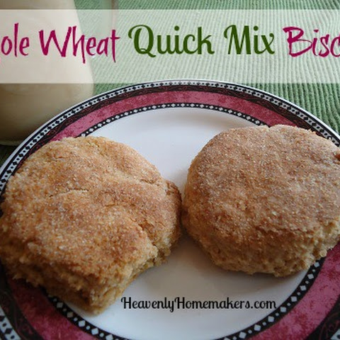 Whole Wheat Quick Mix Biscuits