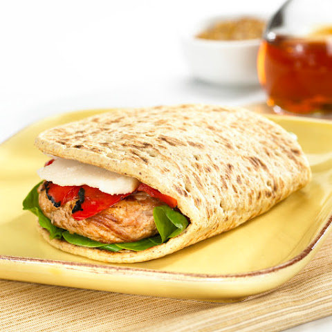 Turkey Burger Foldit® Flatbread Sandwich