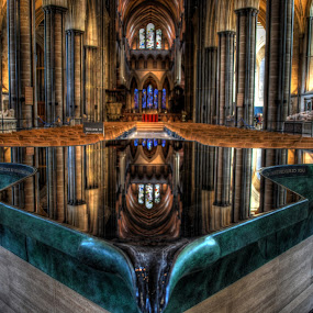Pool of reflection by Natalie Houlding - Buildings & Architecture Other Interior