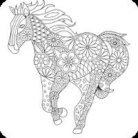 Coloring Book: Animal Mandala For PC (Windows And Mac)
