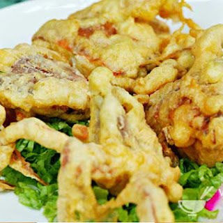 Turmeric-and-Beer-Battered Soft-Shell Crab (Cua Chien Gion)