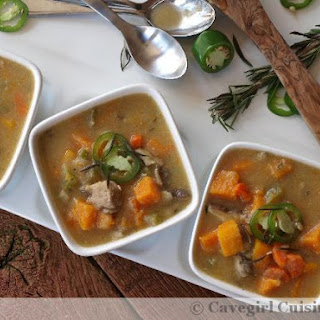 Duck and Butternut Squash Stew