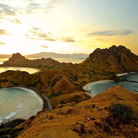 Radar island super sunset by Iman S - Landscapes Sunsets & Sunrises
