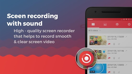 Screen Recorder With Audio And Editor & Screenshot APK for Bluestacks