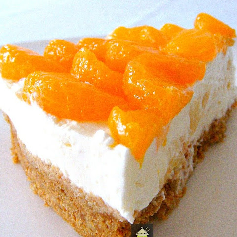 Mandarin and Pineapple Cheesecake