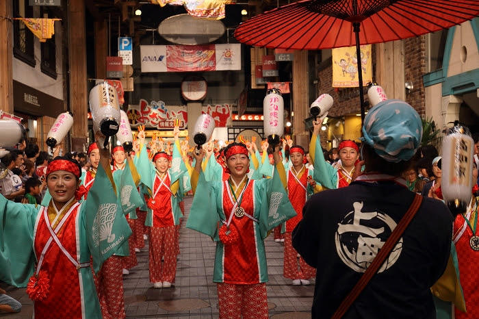 第61回よさこい祭り☆本祭2日目・はりまや橋競演場4☆上1目1412