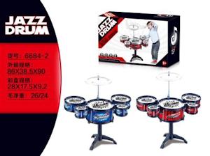 """Игровой набор серии """"Для творчества"""", ударная установка-барабан,Red 1"""