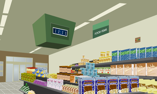 Escape From Supermarket - screenshot