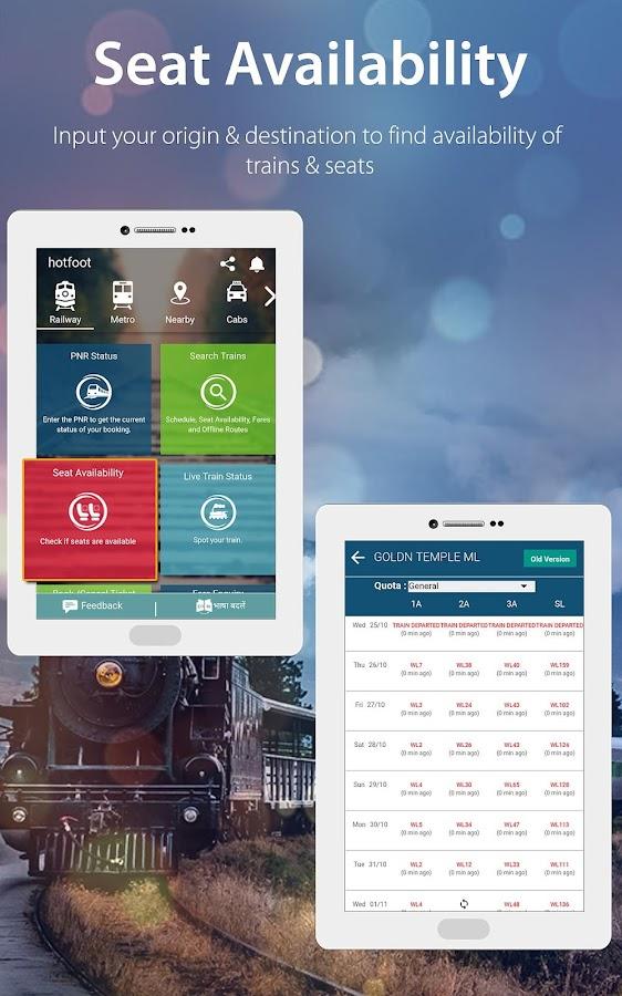 Indian Railway Irctc Train Pnr Amp Running Status Android