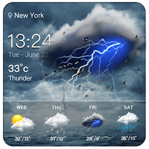 Clock&Weather Widgets Free For PC