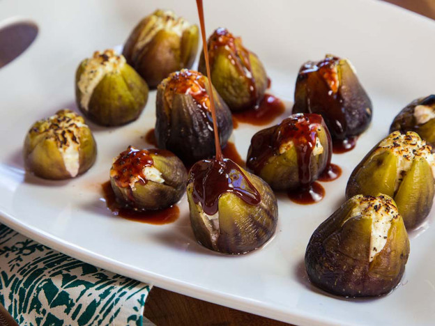 Stuffed Figs with Goat Cheese Recipe | Yummly