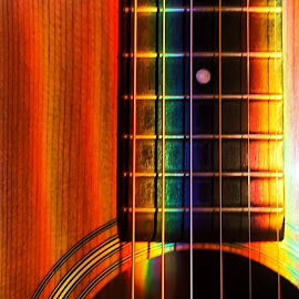 1969 Martin D28 wth crystal reflections by Brett Chulada - Artistic Objects Musical Instruments ( martin acoustic guitar )