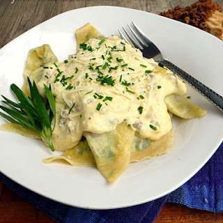 Mushroom Ravioli With Wonton Wrappers Recipes