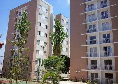 Apartamento com 2 dormitórios à venda, 50 m² por R$ 212.000 - Jardim Nova Hortolândia I - Hortolândia/SP