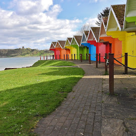 by Eloise Rawling - Buildings & Architecture Other Exteriors ( colourful, beach huts )