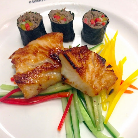 Blue Ginger Alaskan Butterfish