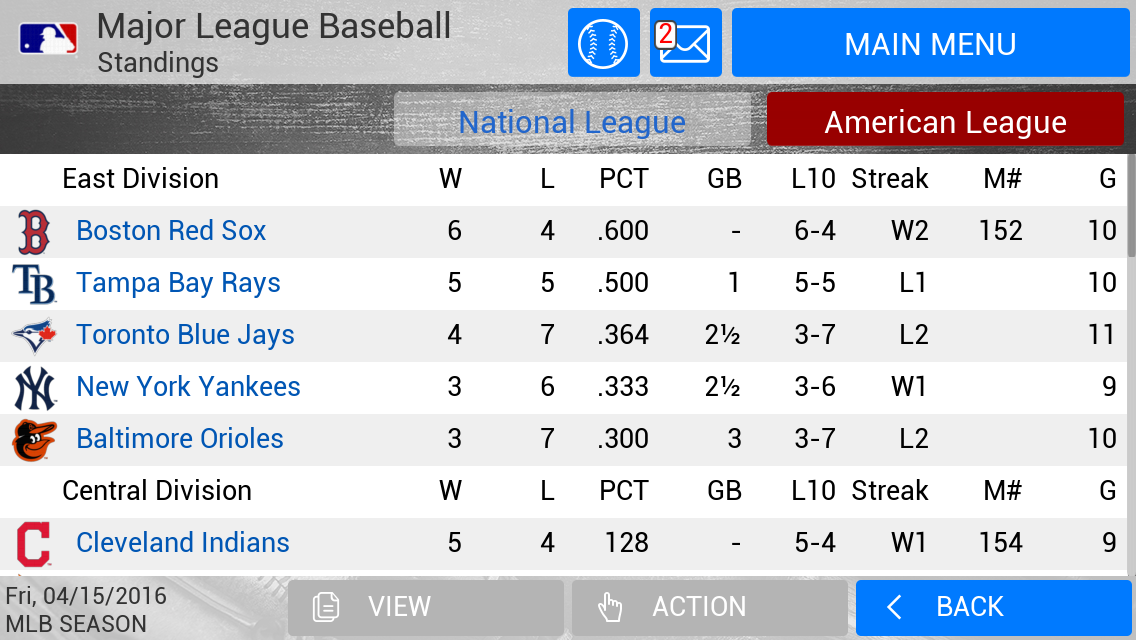 MLB Manager 2016 Screenshot 4