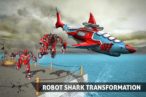 Real Robot Shark Game - Transforming Shark Robot For PC