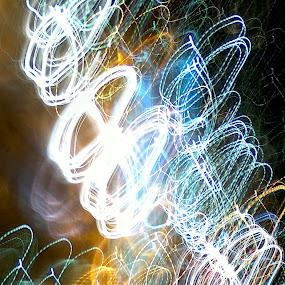 Vrteleska. by Vladimir Plavevski - Abstract Light Painting
