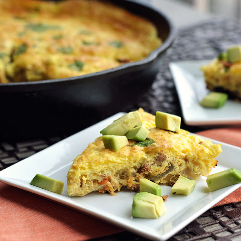 Chorizo and Green Chile Frittata