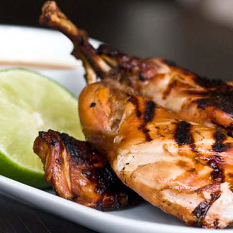 Grilled Rabbit Adobo