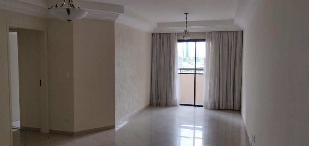 Apartamento com 3 dormitórios para alugar, 91 m² por R$ 2.500/mês - Empresarial 18 do Forte - Barueri/SP