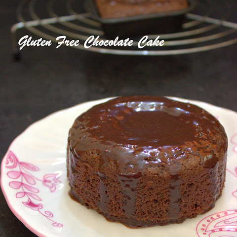 Gluten Free Chocolate Cake / Eggless White Millet Chocolate Cake