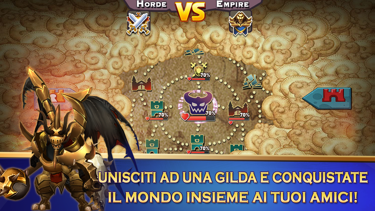 Clash of Lords 2: Italiano Screenshot 3